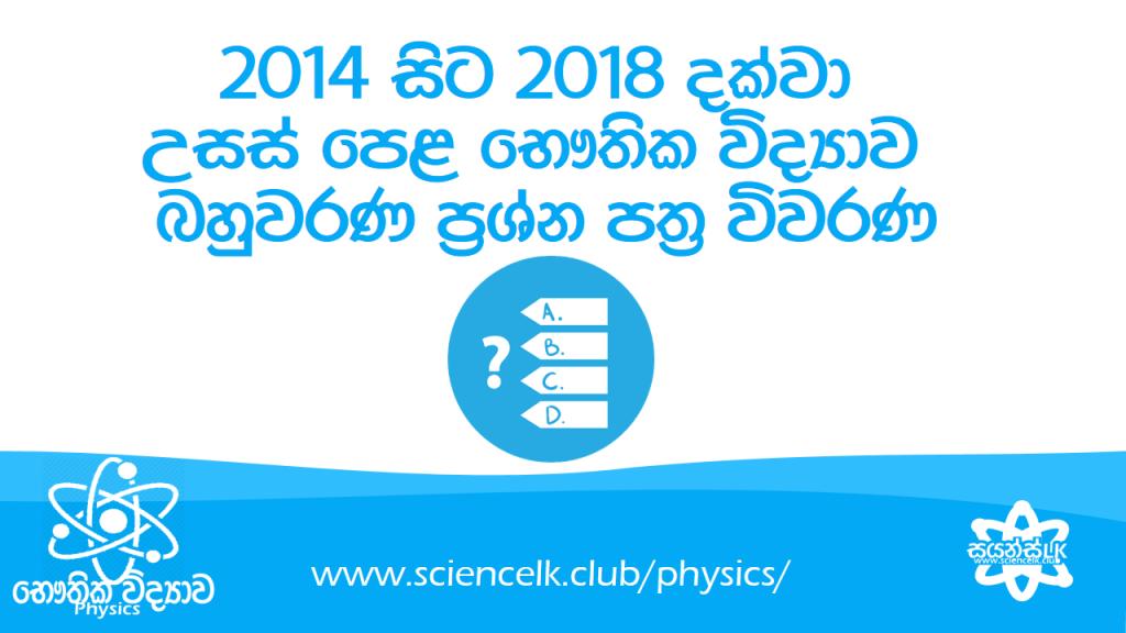 a/l physics wiwarana